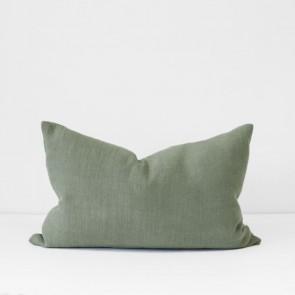 Sage Italian Linen Cushion 40 x 60cm