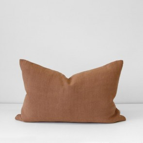 Terracotta Italian Linen Cushion 40 x 60cm