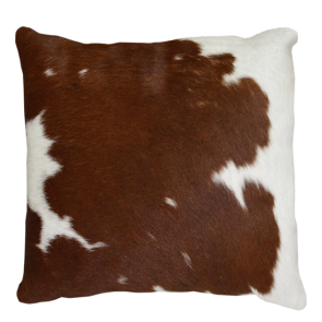 Collezióne Roca Square Cushion Brown/White