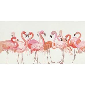 Flamingo Canvas Art