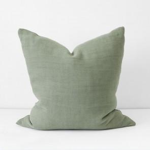 Sage Italian Linen Cushion 60 x 60cm
