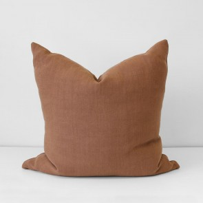 Terracotta Italian Linen Cushion 60 x 60cm