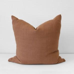 Terracotta Italian Linen Cushion 60 x 60cm