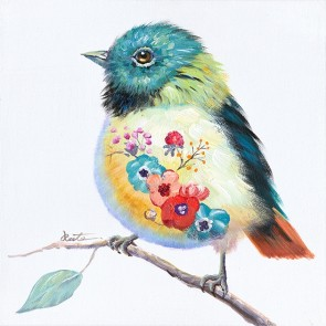 Feather Canvas Art