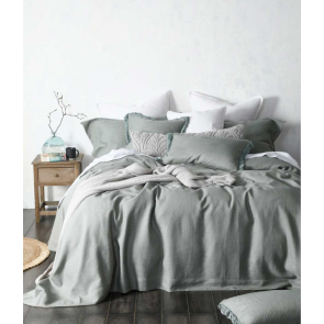 Crozet Sage Bedspread Set by MM Linen