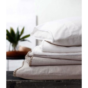 Stitch Sheet Set by MM Linen - White