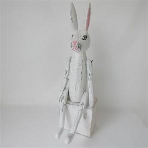 Vintage Rabbit XLarge Whitewash