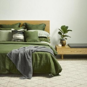 Linen Forest Duvet Cover - NZ Made