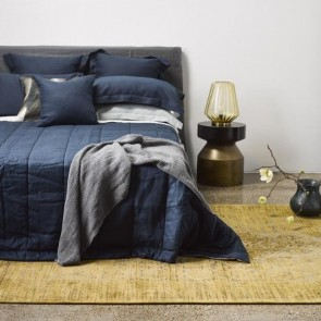 Thread Design Navy Linen Quilt