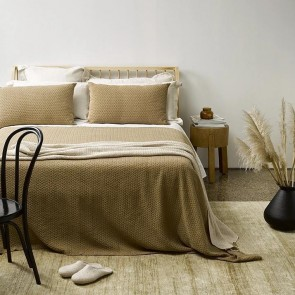 Siesta Stone-washed 100% cotton Bedspread Set