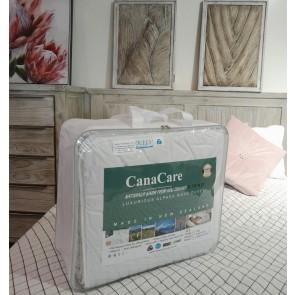 NZ made, Luxurious Alpaca & Wool Blend Duvet 400 GSM by Canacare