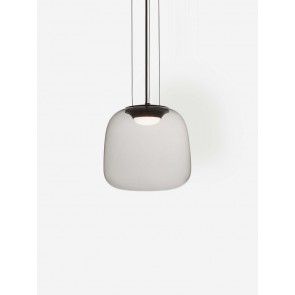 Smoke Grey Pendant Light Small