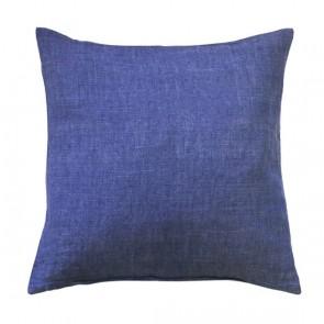 Limon Adria Cotton/Linen Blend Cushion - Indigo