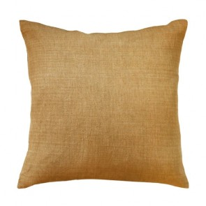 Limon Adria Cotton/Linen Blend Cushion - Mustard