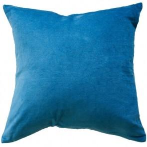 Mulberi Majestic Velvet/Linen Cushion - Airforce Blue