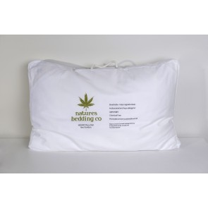 Hemp Pillow by Natures Bedding