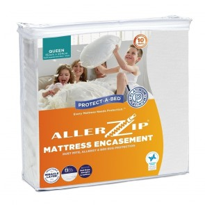 Allerzip Smooth Sleep Surface Waterproof Fully Encased Mattress Protector by Protect-A-Bed