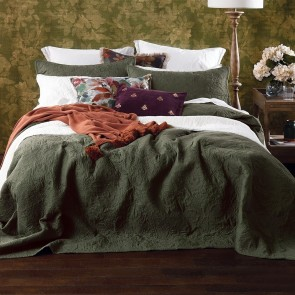 Ancara Bedspread Set by MM Linen - Clover
