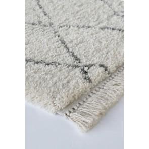 Limon Intrepid Adana Floor Rug - Ecru-Grey