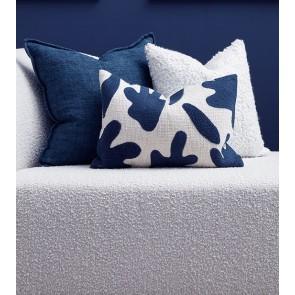 Mulberi Angelisa Ink Ivory Cushion