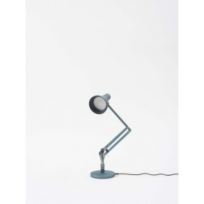 Anglepoise 90 Mini Mini USB Desk Lamp Carbon Steel Blue/Grey