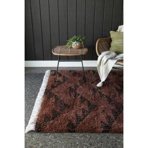 Limon Intrepid Ankara Terracotta Floor Rug