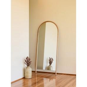 Arc Full Length Mirror Oak - XL