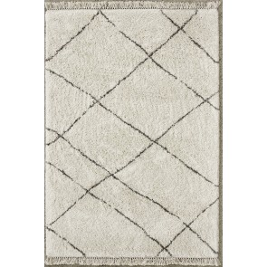 Mulberi Argento Cream Grey Floor Rug