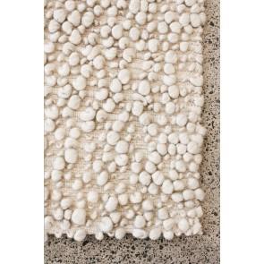 Mulberi Aria Natural White Floor Rug