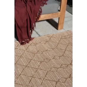 Mulberi Flax Aruba Teak In & Outdoor Floor Rug