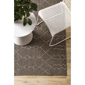 Mulberi In & Outdoor Aruba Graphite Floor Rug