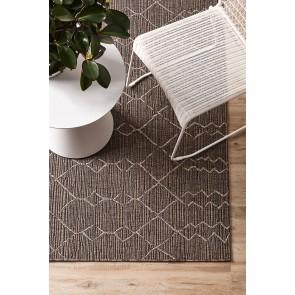 Mulberi In & Outdoor Aruba Graphite Floor Rug