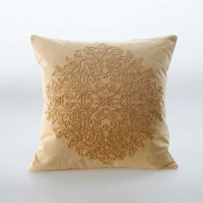 Auro Cushion by MM Linen - Ochre