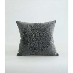 Auro Cushion by MM Linen - Charcoal