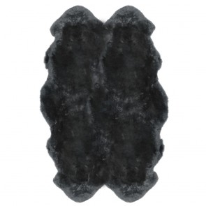 FIBRE by AUSKIN New Zealand Quatro Sheepskin Rug - Steel