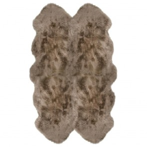 FIBRE by AUSKIN New Zealand Quatro Sheepskin Rug - Taupe