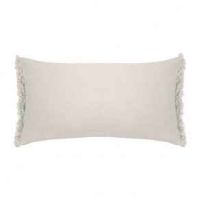 Avoca Long Cushion by Bambury - Pebble