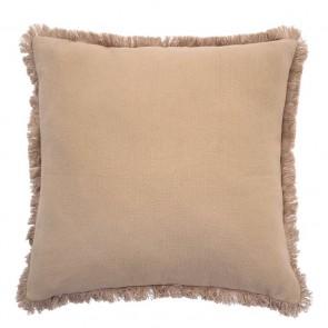 Avoca Square Cushion by Bambury - Bisque