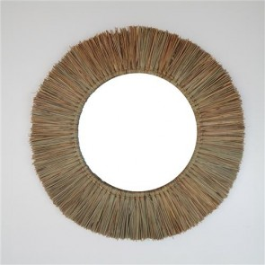 Panang Grass Mirror Natural