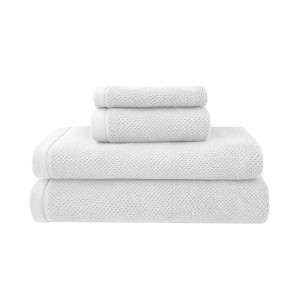 Angove Bath Towel Range by Bambury - White