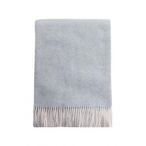 Mulberi Bambina Merino Cashmere Blend Throw - Silver