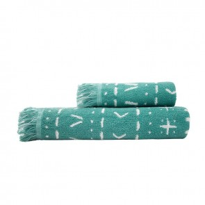 Nomad Towel Range by Bambury - Kingfisher