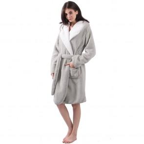Sherpa Unisex Reversible Robe by Bambury