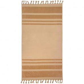 Aurora Beach Towel by Bambury - Bisque