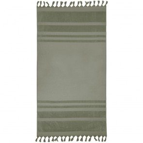 Aurora Beach Towel by Bambury - Moss