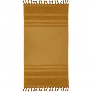 Aurora Beach Towel by Bambury - Mustard