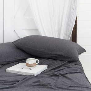 BedT 100% Cotton Sheet Set by Bambury - Charcoal