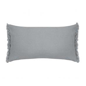 Avoca Long Cushion by Bambury - Steel Blue