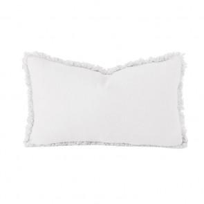 Linen Long Cushion by Bambury - Ivory