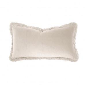 Velvet Long Cushion by Bambury - Pearl